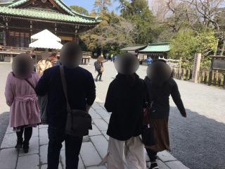 三嶋大社グループ参拝