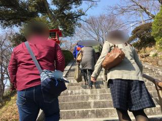 婚活バスツアー・織姫神社にて