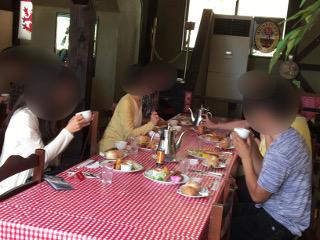 婚活バスツアー・昼食