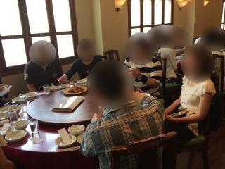 横浜にて昼食