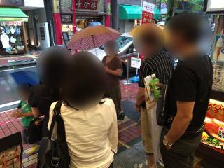 中華街グループ散策