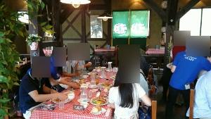 ロックハート城昼食