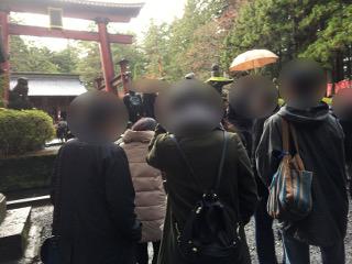 浅間神社グループ参拝