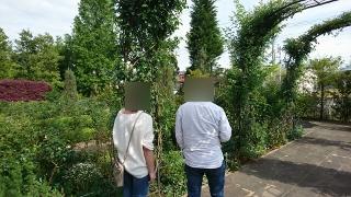 婚活ツアー花園フォレスト散策