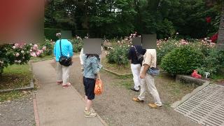 婚活ツアー井頭公園散策