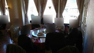 婚活ツアー中華街昼食