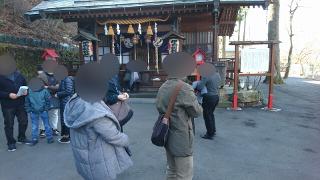 伊香保神社にて