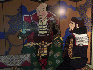 ワイナリー・壁画