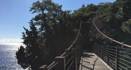 城ヶ崎海岸・吊橋