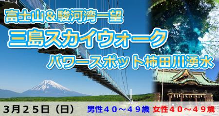 360度の絶景!富士山&駿河湾一望の三島スカイウォーク&柿田川湧水
