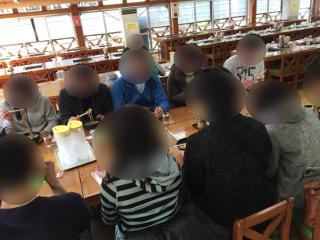 千本松にて昼食