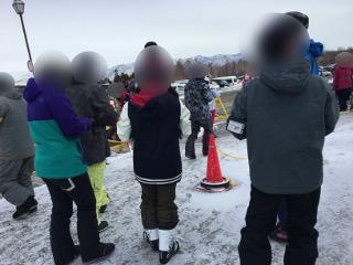 2日目のスキー