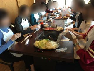 アサヒビール四季の里店にて昼食