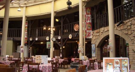 ロックハート城レストラン