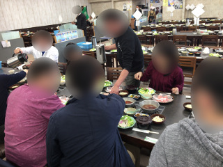 ビアンデでの昼食