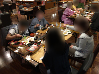 聚楽・夕食