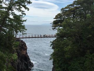 城ヶ崎大吊橋