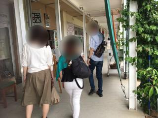 保田小学校にて