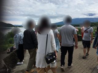 大石公園にて散策