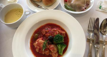 イタリア産トマトのカチャトーラ
