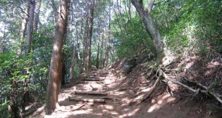 筑波山登山路