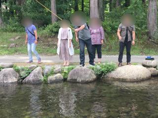 婚活宿泊・釣り