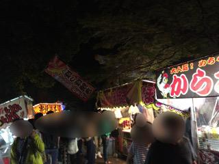 片貝祭り・屋台