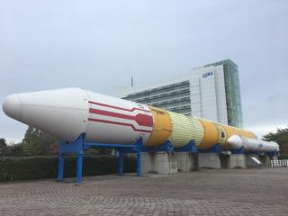 JAXA宇宙センター・ロケット