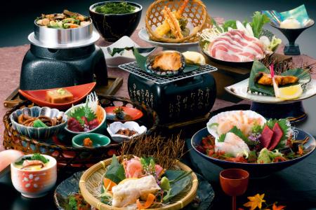 芦ノ牧グランド2018夕食