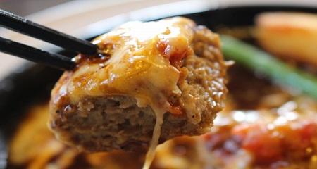 デミグラスチーズハンバーグ
