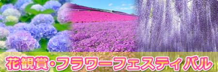 花観賞・フラワーフェスティバル-春初夏