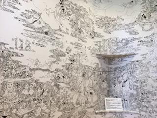 北原ミュージアム・階段の絵