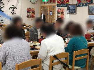 焼津で昼食