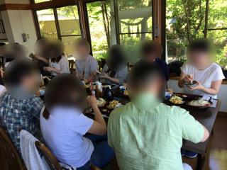 婚活バス・水澤うどん昼食