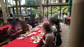 ロックハート城にて昼食
