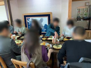 水澤亭にて食事