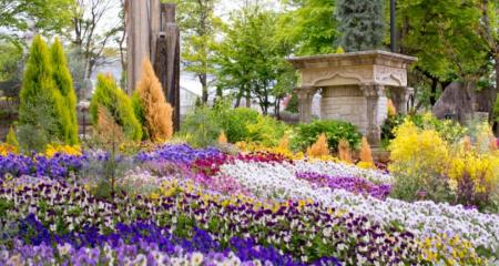 ハーブ庭園