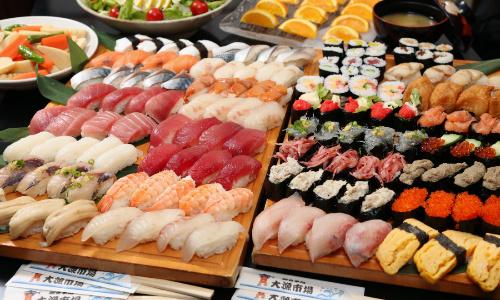 寿司食べ放題
